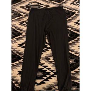 Black TC2 lularoe leggings
